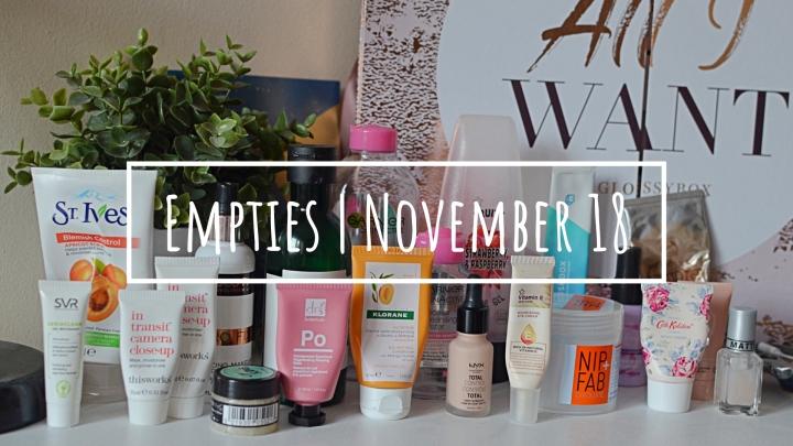 Empties | November18