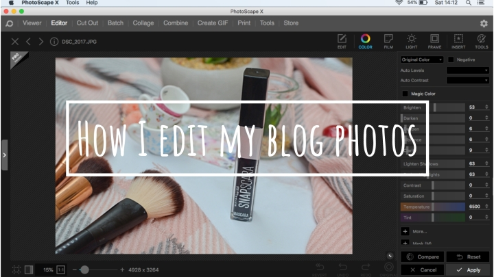 How I Edit My Blog Post Photos | Free Photoshop?