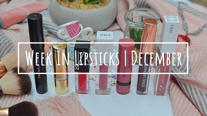 Lipsticks of the Week | December