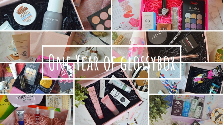 One Year of Glossybox