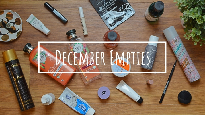 December Empties | Would I Repurchase?