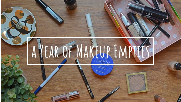 A Year of Makeup Empties | 2018
