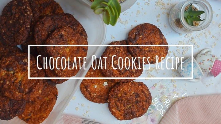 Chocolate Oat Cookies Recipe