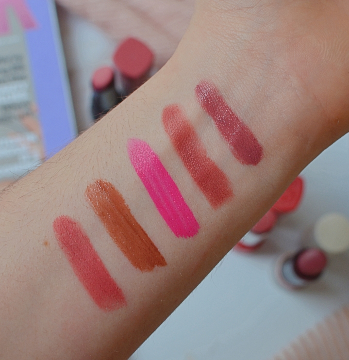5 drugstore lipsticks 3
