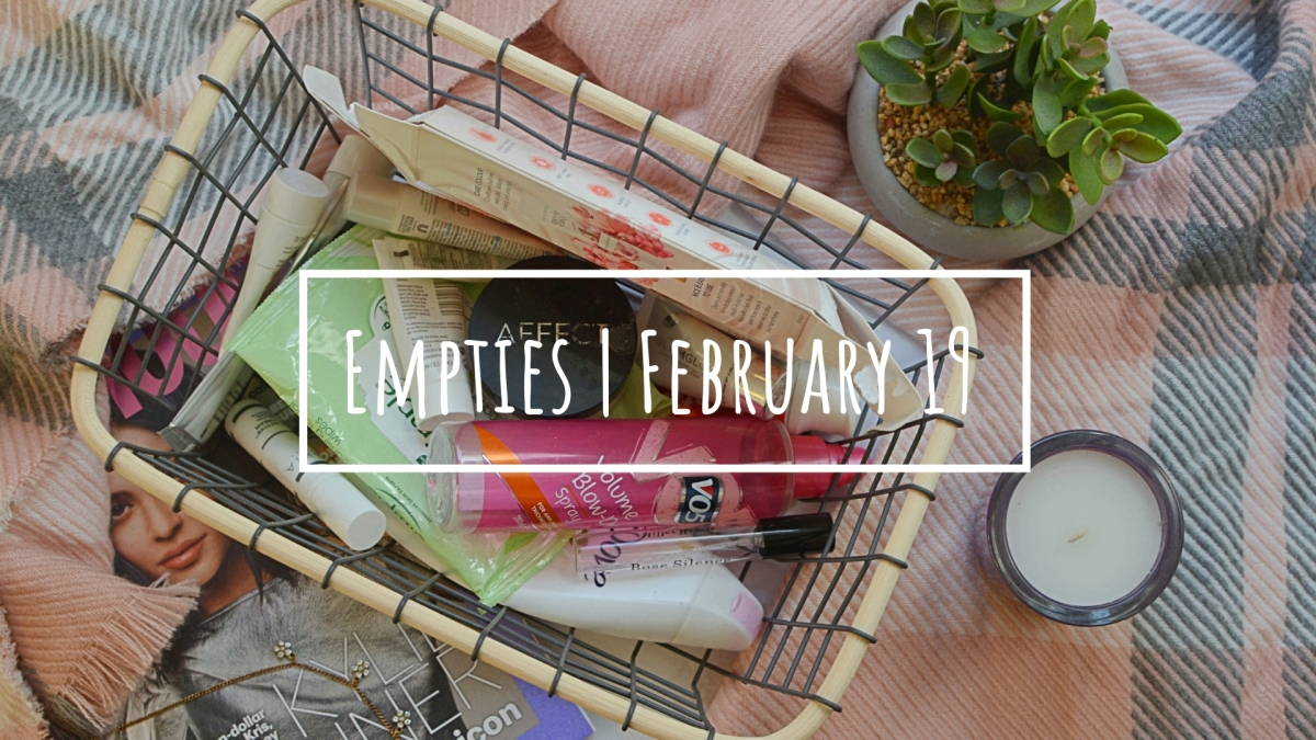 February Empties | Would I Repurchase?