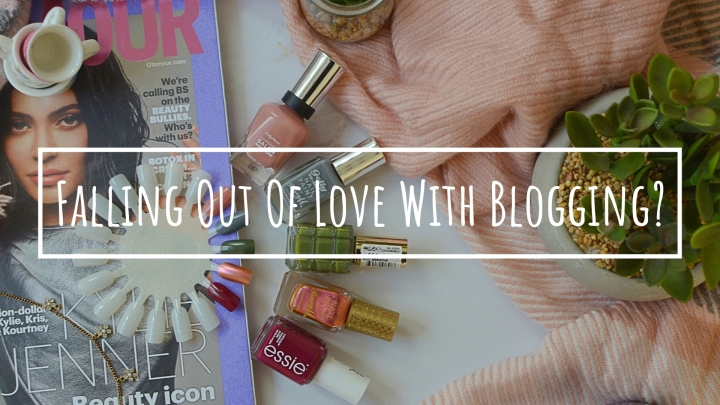 Falling Out Of Love WithBlogging?
