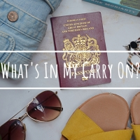 What's In My Carry On?