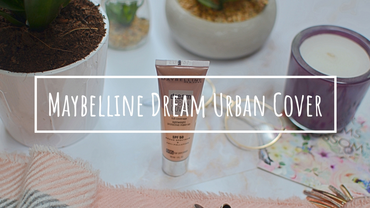 New | Maybelline Dream Urban Cover Foundation