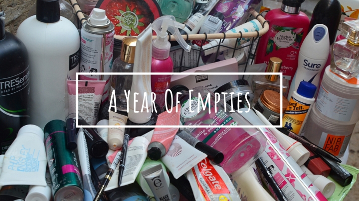 A Year of Empties | Skincare, Makeup and Haircare | 2019