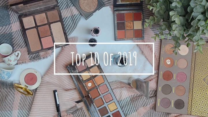 Top 10 of 2019 |Makeup