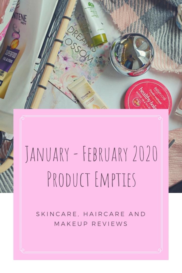February 2020 Empties Top Image (1)