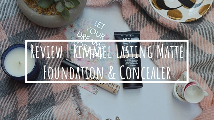Review | Rimmel Lasting Matte Foundation & Concealer
